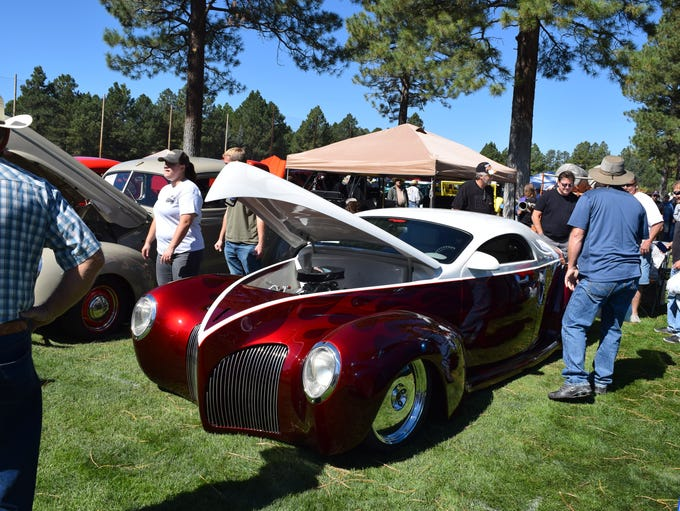 The Run to the Pines car show in Pinetop-Lakeside will