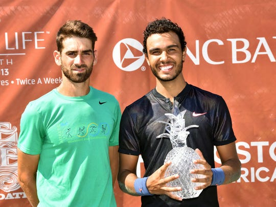 Juan Benitez of Colombia won the singles title at the