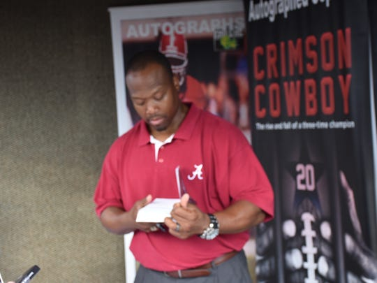 Former Alabama Crimson Tide star running back Sherman