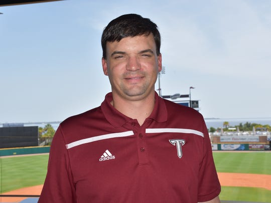 Troy Trojans football coach Neal Brown made his first