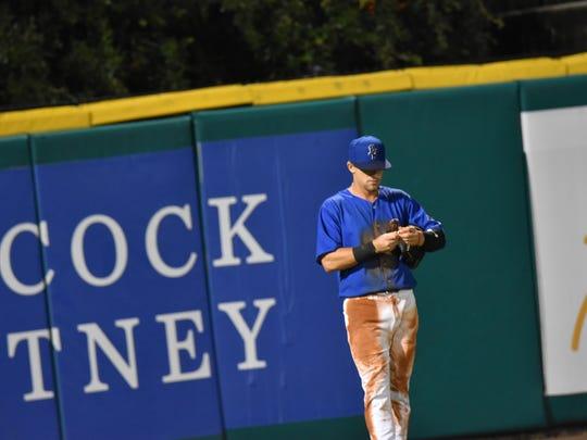 Left fielder T.J. Friedl's effort has been a big factor in the Blue Wahoos second-half surge.
