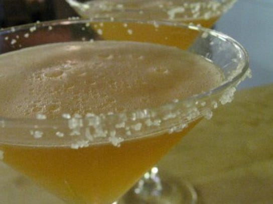 Salty Dogs are made with gin and grapefruit juice.