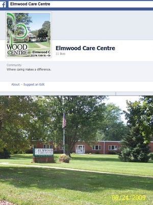 A portion of the Facebook page for Elmwood Care Centre in Onawa, Iowa, about 60 miles north of Omaha, Neb.