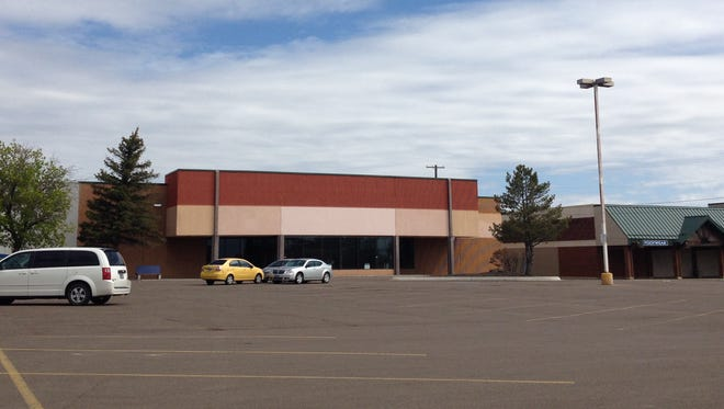 The site of the T.X. Maxx store, at 135 Northwest Bypass, the former Corral West, is shown before exterior renovation.