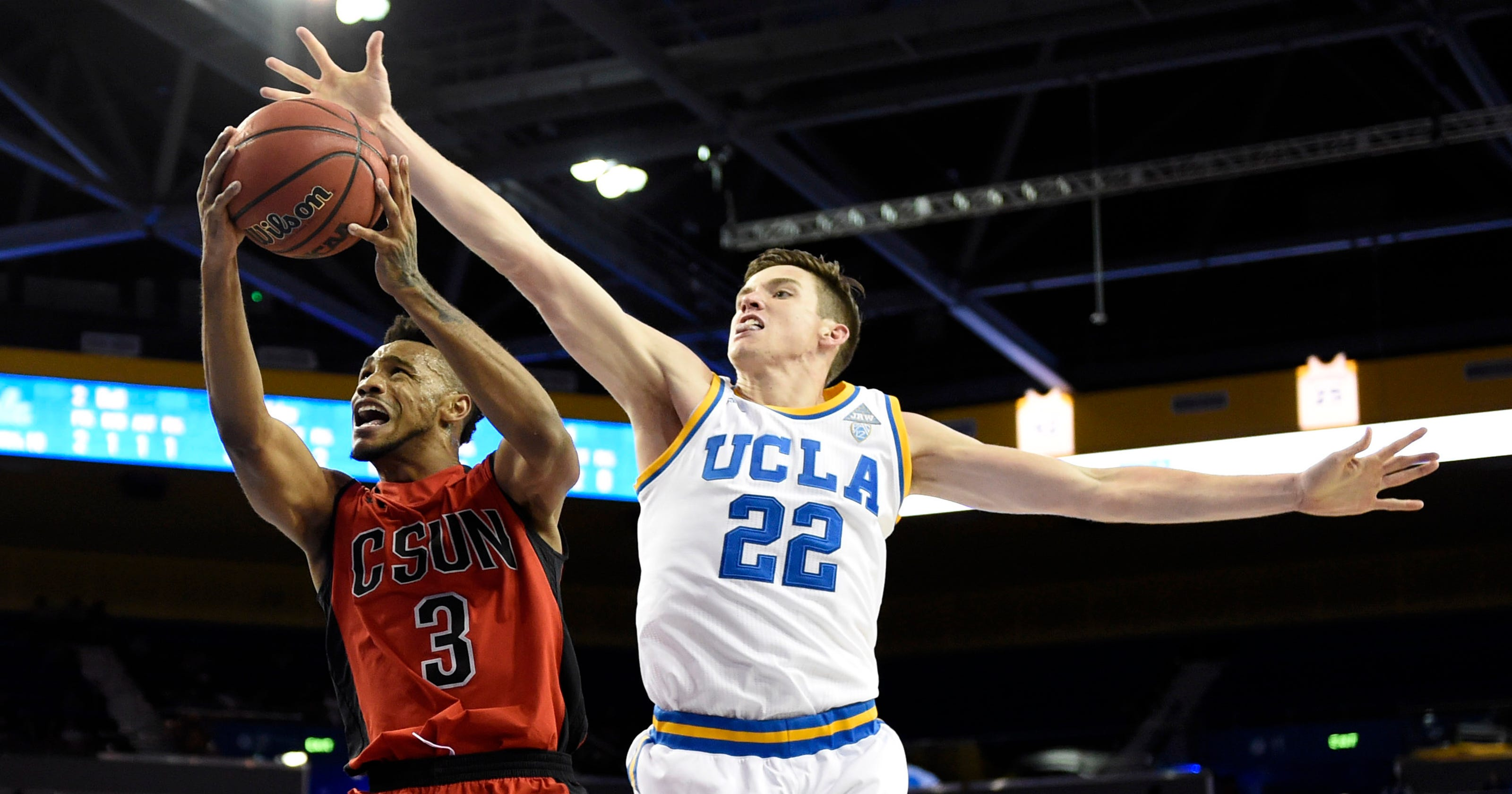 new concept 733c1 de453 No. 20 UCLA pulls away from Cal State Northridge in second half