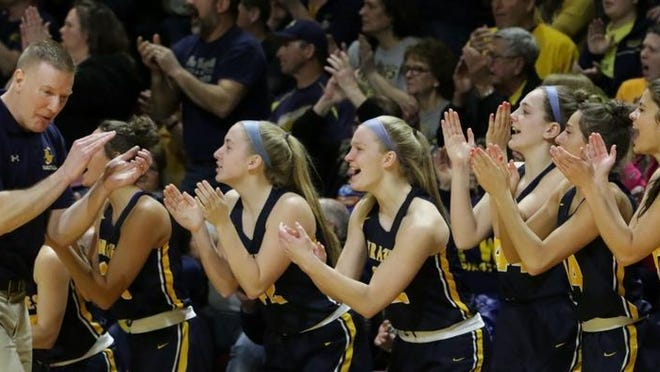The Pewamo-Westphalia girls basketball roster will see a lot of new faces this season.