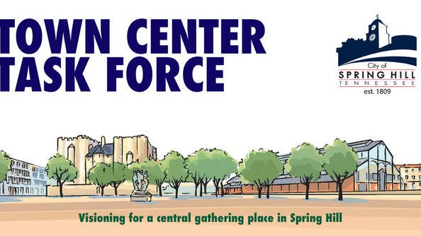 Spring Hill's Town Center Task Force presented a proposed sidewalk project to the Board of Mayor and Aldermen. The project would potentially connect three of Spring Hill's emerging districts, including the town center proposed at the current Tennessee Children's Home.