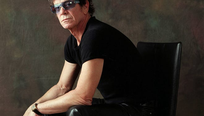 Rock music icon Lou Reed