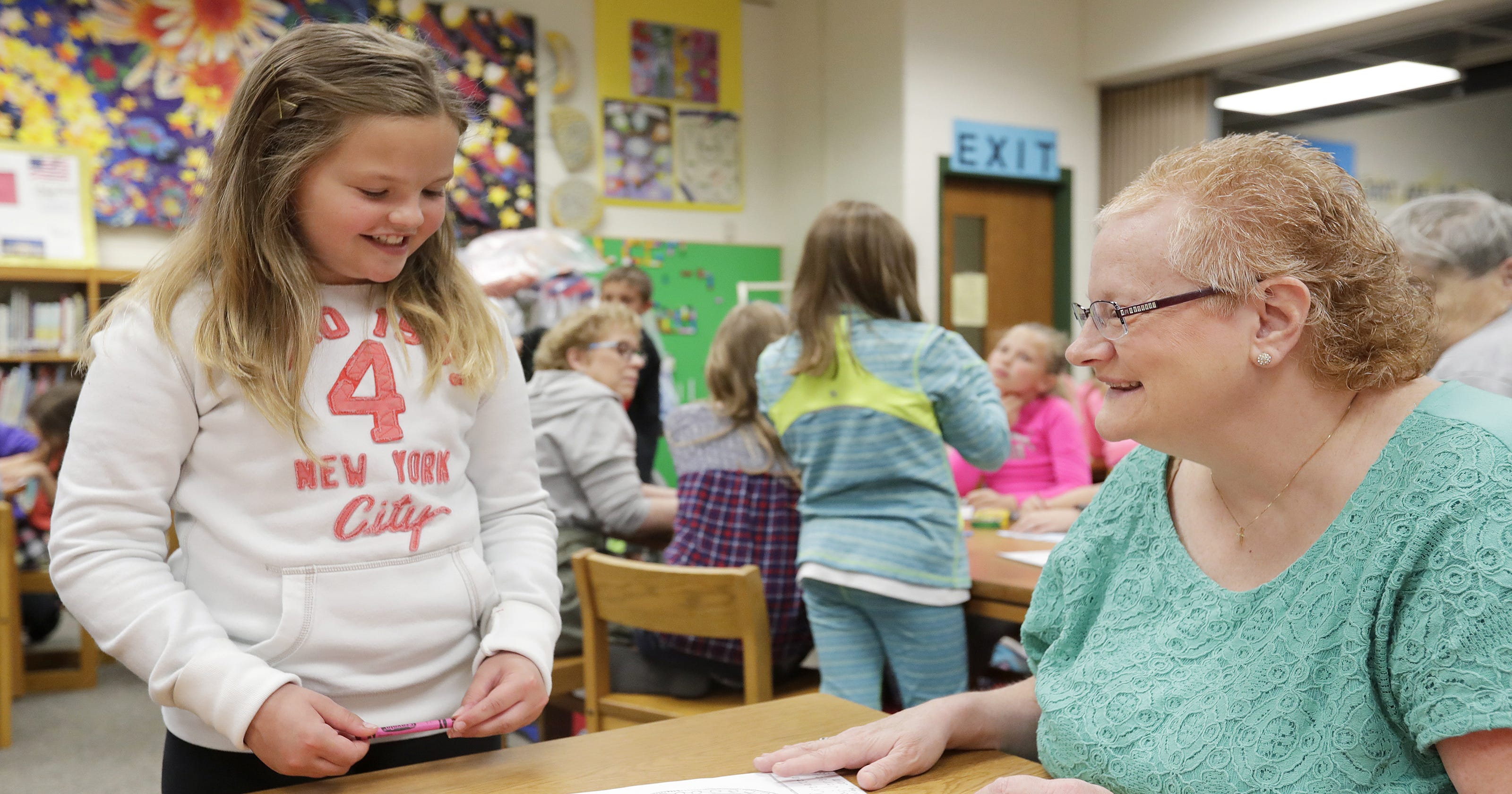 Pen pals end year with get-together