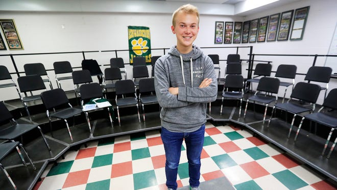 Ashwaubenon High School senior Bailey Conradt was named to the Green Bay Press-Gazette 2018 Academic Team.