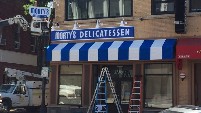 Morty's Delicatessen in the City of Poughkeepsie is scheduled for an August opening.