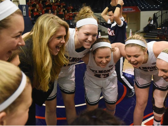 The Belmont women's team earned 10 votes in the Associated