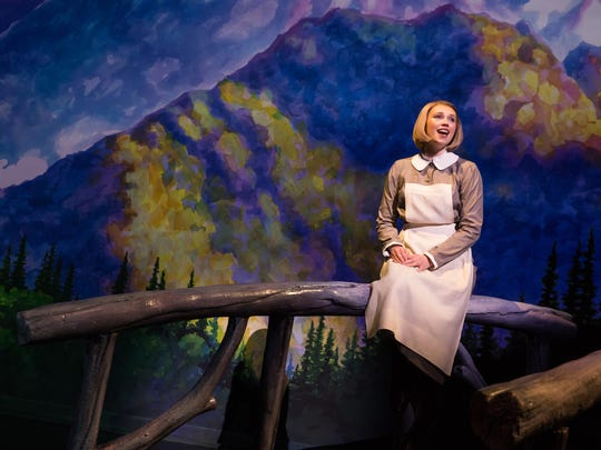 Charlotte Maltby plays Maria Rainer in The Sound of Music.