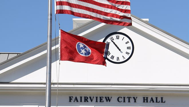 Fairview City Hall.
