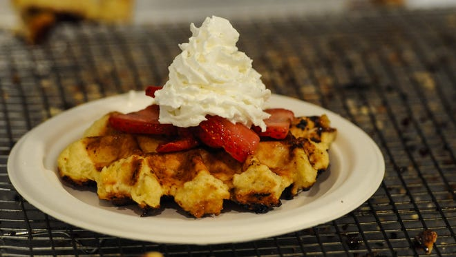The Belgian Waffles from Taste of Belgium will be available at Great American Ball Park this season