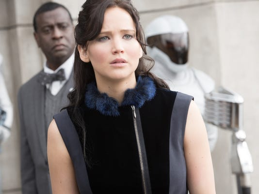 The Hunger Games Catching Fire Jennifer Lawrence publicity still