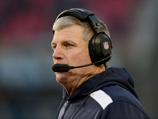 Mike Munchak, while he was the Tennessee Titans' head
