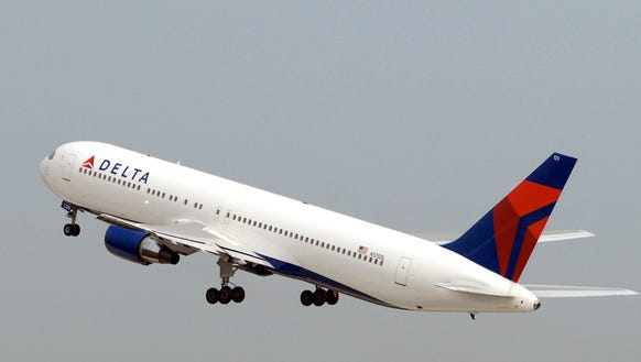 This file photo shows a Delta Air Lines Boeing 767.