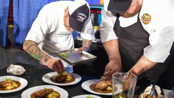 Chefs compete in the 10th annual Louisiana Seafood Cook-Off. The 11th annual event will happen June 19 at the Cajundome Convention Center in Lafayette.