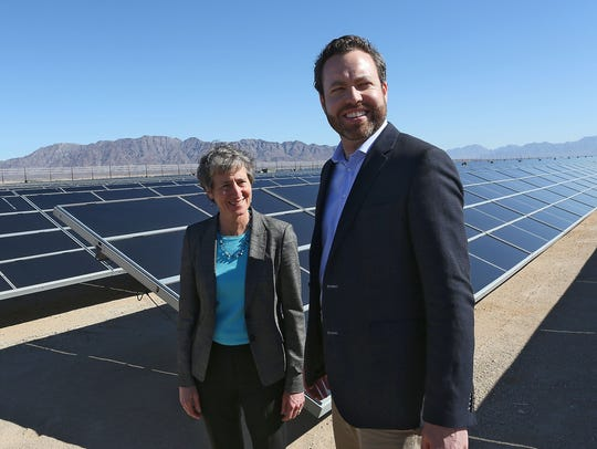 Interior Secretary Sally Jewell and Bureau of Land