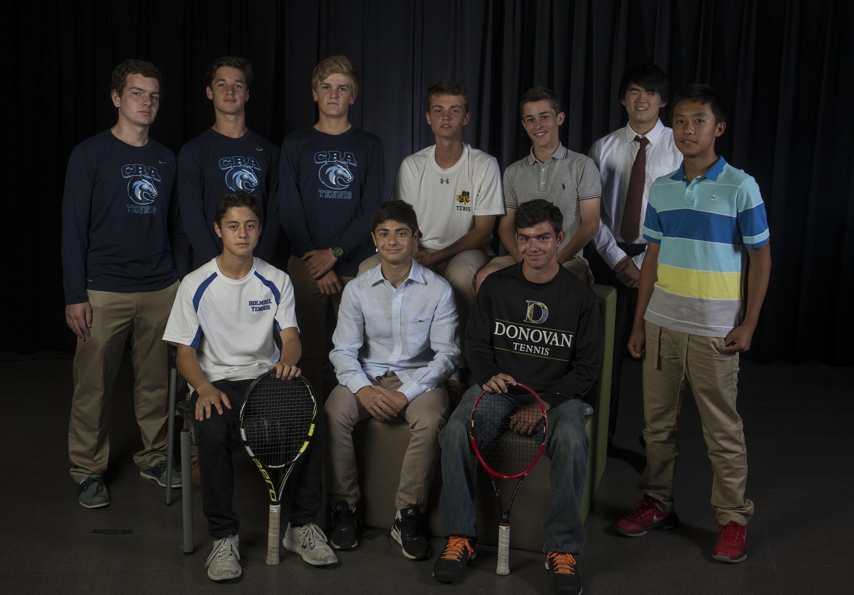 Shore Boys Tennis Team