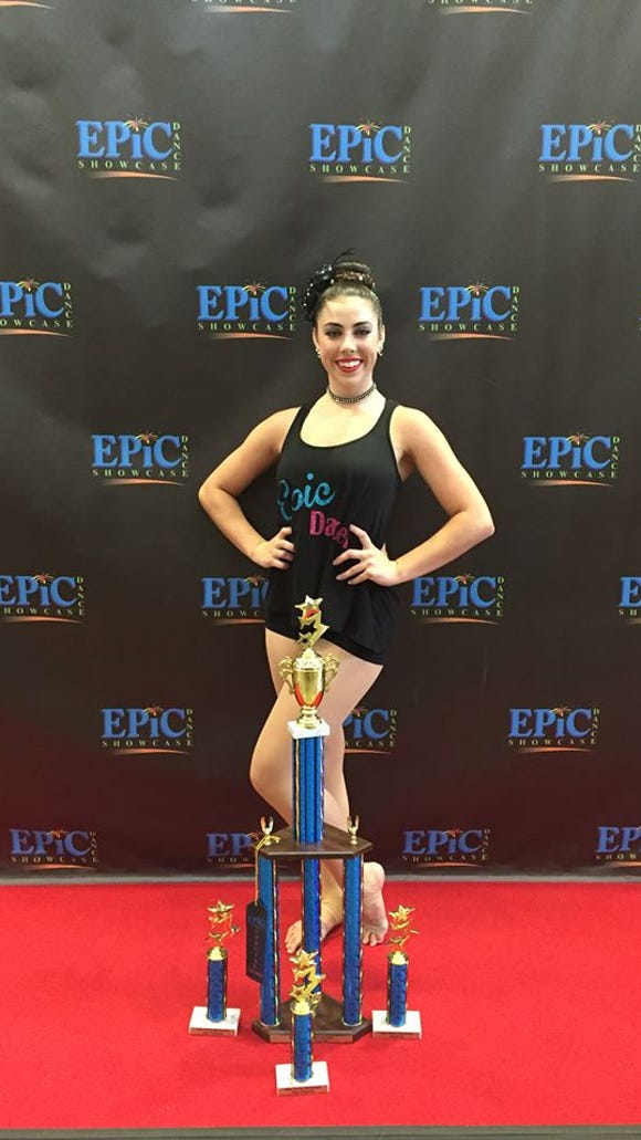 Recent Enka graduate Michaela Hannah has signed to dance in college for Milligan (Tenn.).