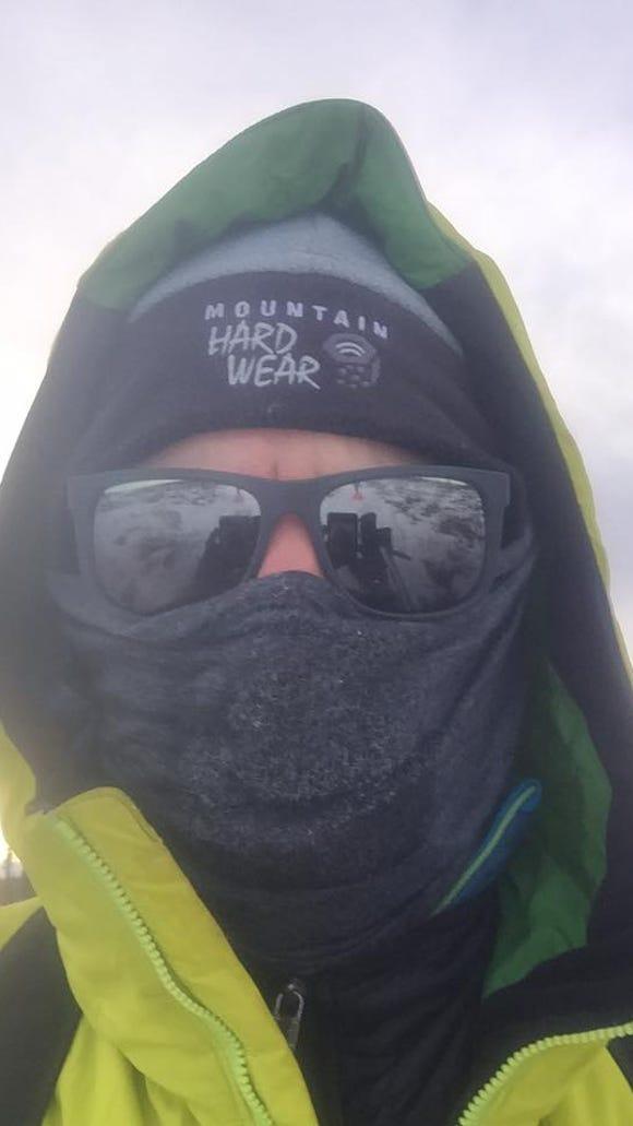 Pete Ripmaster finishes his 1,000-mile Iditarod Trail Invitational bid at the 500-mile mark.