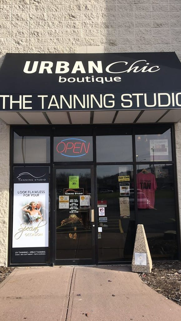 Urban Chic Boutique, located at The Tanning Studio