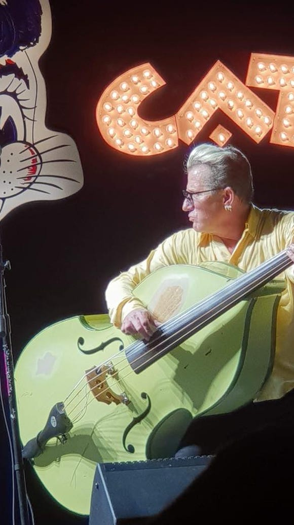 """The Stray Cat,"" Lee Rocker, performs May 11 at the"