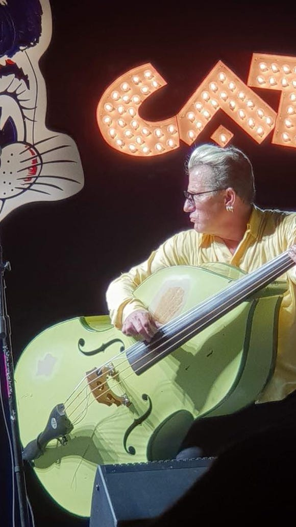 """The Stray Cat,"" Lee Rocker, performs May 11 at the Admiral Theatre."