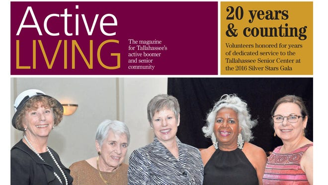 Cover of July August issue of Active Living 2016.