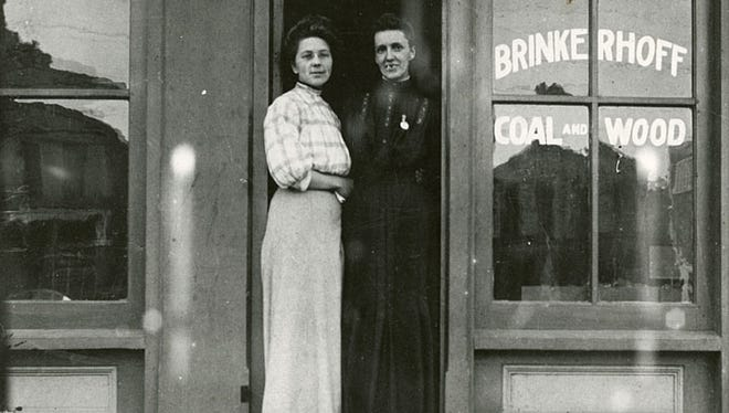 The Brinkerhoff Coal and Wood office was located on East Wisconsin Avenue in Neenah.
