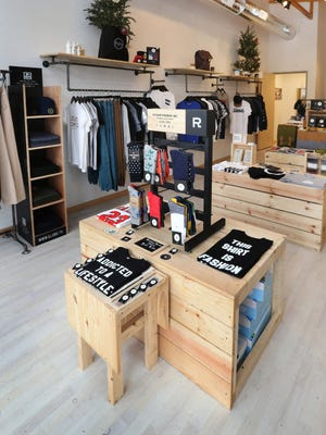 Righno Boutique (1103 N. College Ave.) offers a variety of clothing, accessories and specialty items such as soy candles and indie coffees.