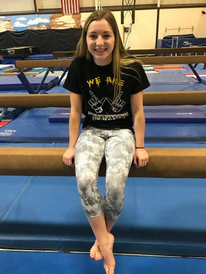 Waupun sophomore Grace Lenz will compete in the vault and floor exercises at the WIAA state gymnastics meet Saturday.