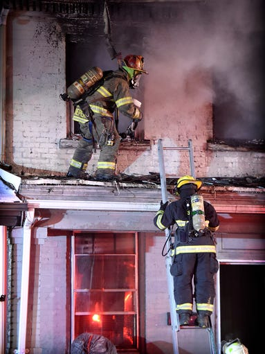 A New Years Day fire did an estimated $200,000 dollars