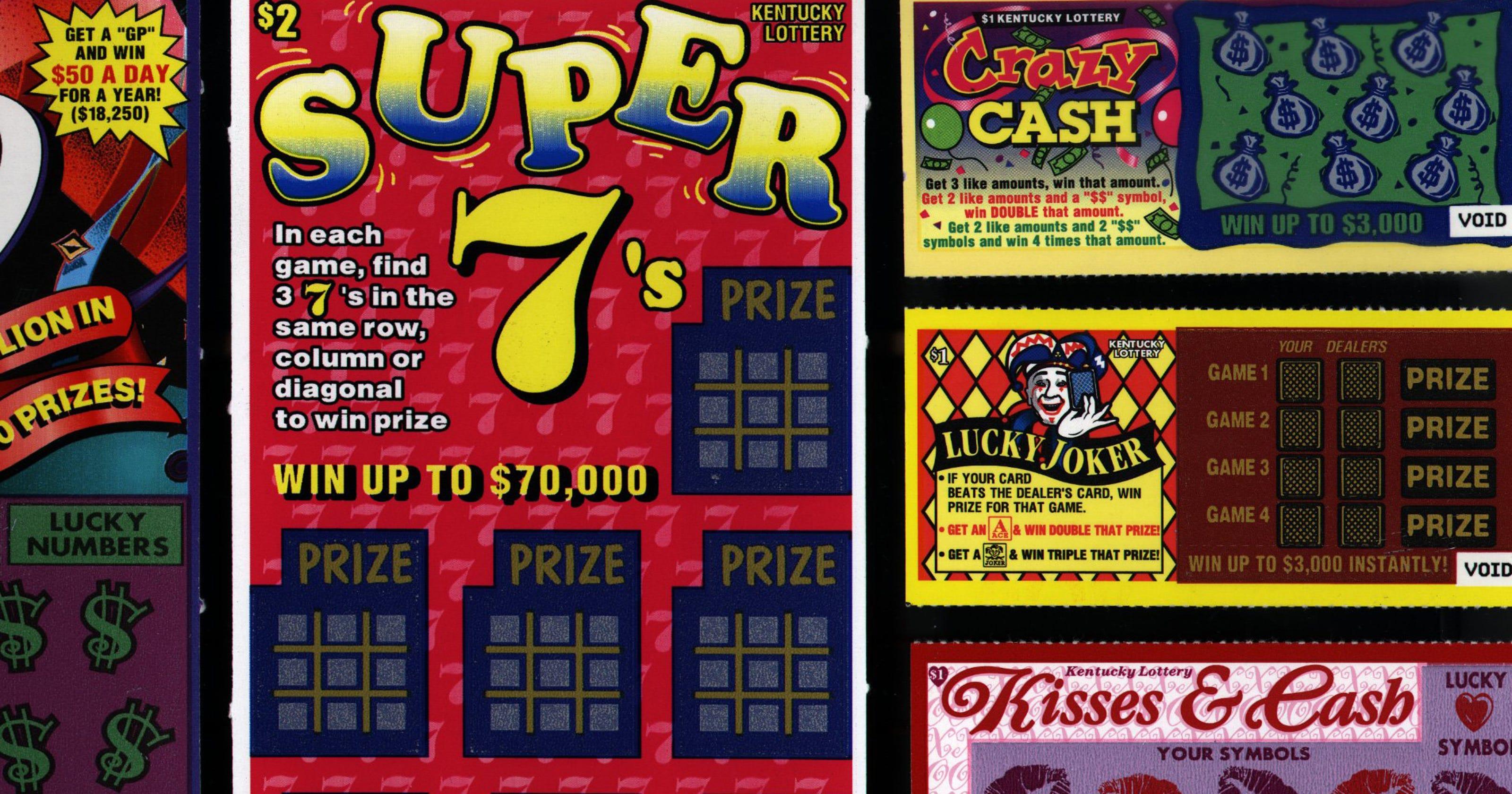 Hoosier Lottery: $43 8 million winning ticket sold outside Louisville