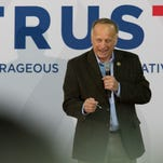 U.S. Rep. Steve King campaigned heavily for Ted Cruz during the Iowa caucuses campaign.