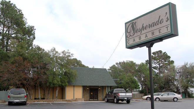 Desperado's Gentleman's Cabaret in Carencro was closed in 2012 after nine people were arrested  in what authorities described as a federal investigation into drug activities at the business.   Advertiser File Photo Desperado's GentlemanÃ?s Cabaret in Carencro is seen closed Thursday after nine people were arrested Wednesday in what authorities describe as a federal investigation into drug activities at the business.