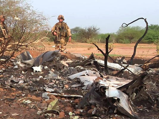 Air Algerie crash site