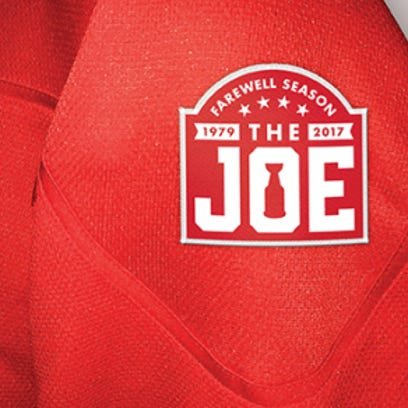 This is the patch the Wings will wear on their sweaters