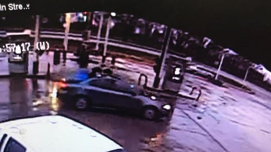 The Shawnee County Sheriff's Office is seeking the public's help locating a suspect that reportedly committed multiple armed robberies Saturday evening. According to a news release, the subject arrived at the scene of the first robbery in a brownish-colored, four-door Pontiac passenger car with a blue tarp covering its back window.