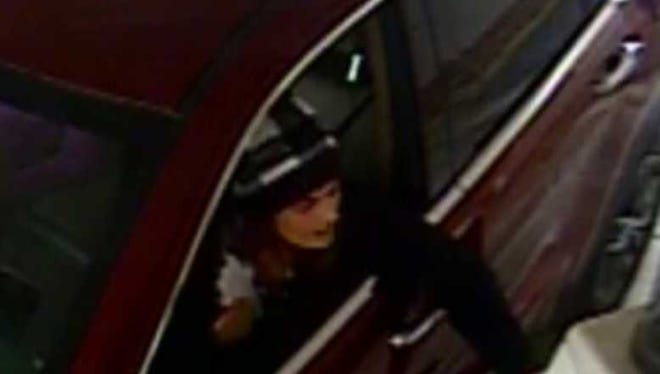 On Jan.12 and Jan.13, Prattville had several vehicles broken into at both locations of the YMCA.  Investigators released photos of a white female suspect who is using a stolen driver's license attempting to cash stolen checks from the vehicle break-ins.