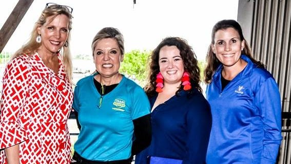 Corpus Christi Symphony Executive Director Lynn Haueter and Director of Development & Marketing Madeline Schmidt, with Valero Public Affairs Manager Darcy Schroeder and Executive Secretary and Lead Community Relations Specialist Patsy Benchoff