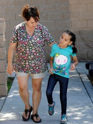 Brenda Donahue and her daughter, Alex