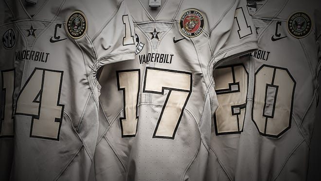 Vanderbilt is teaming with Medals of Honor for a special salute to the military in their game against Kentucky.