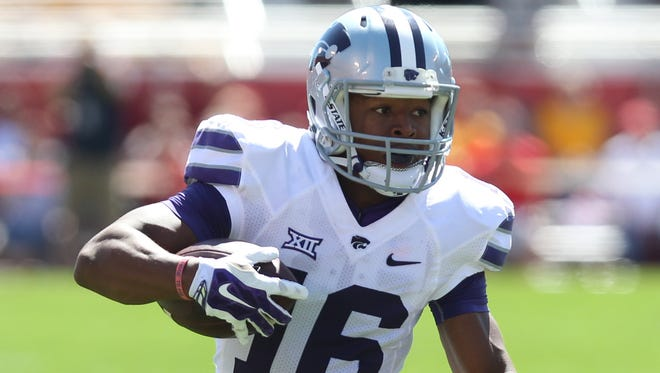 Kansas State's Tyler Lockett is one of the best wide receivers in the country.