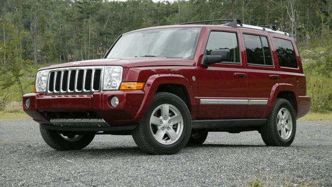 This 2006 Jeep Commander is one of the vehicles that could be affected by the recall.