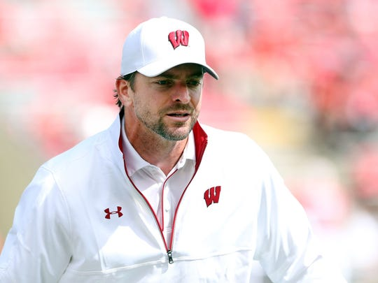 Wisconsin defensive coordinator Justin Wilcox is a was a big part of the Badgers strong season in football.