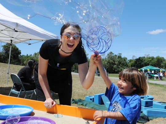 Scenes from the annual Family Fun Day at Natividad Creek Park on Sunday, May 22nd, 2016. The event celebrates the mental health of children and families.
