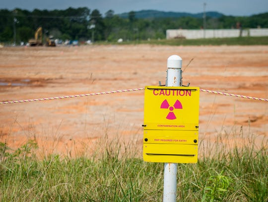 The K-27 site at East Tennessee Technology Park.